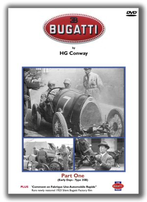 Bugatti DVD (PART ONE) by H G Conway