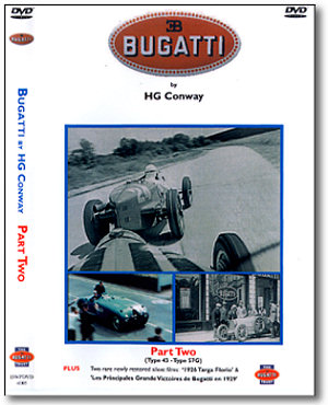 Bugatti DVD (PART TWO) by H G Conway