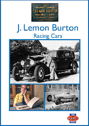 DVD: J Lemon Burton - Racing Cars