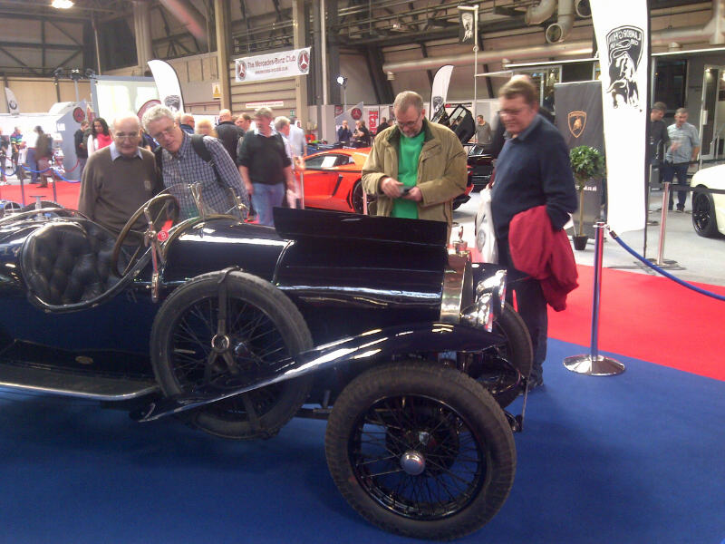 The Classic Car and Motorcycle show 2014