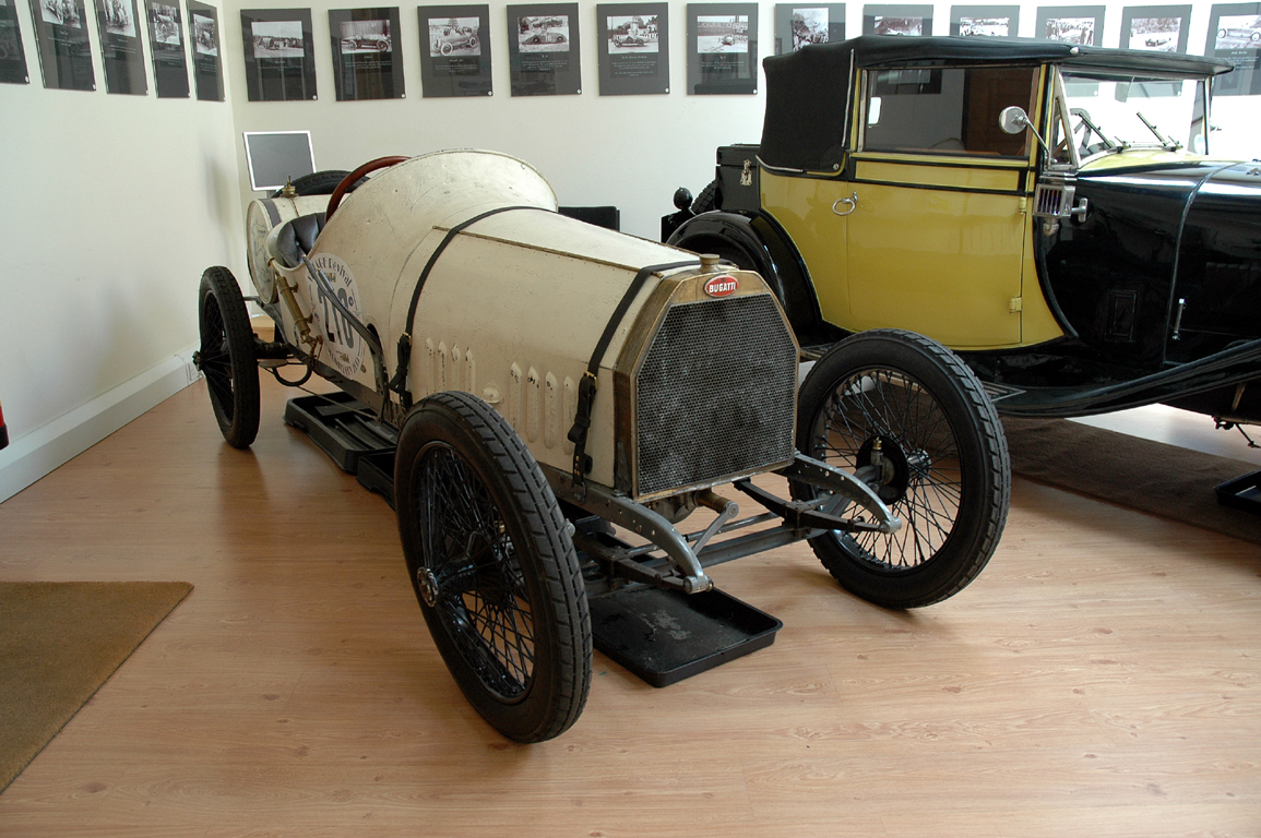 1912 bugatti t15 is now on display at the bugatti trust - the