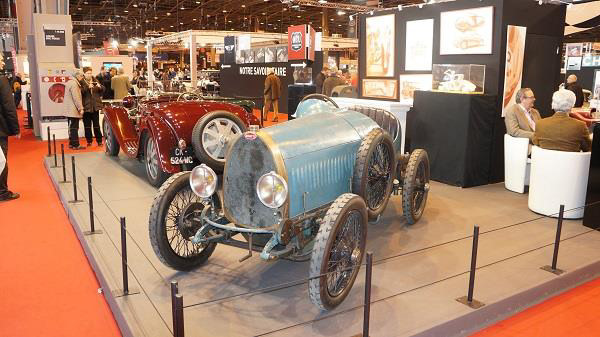 Bugattis at Retromobile 2